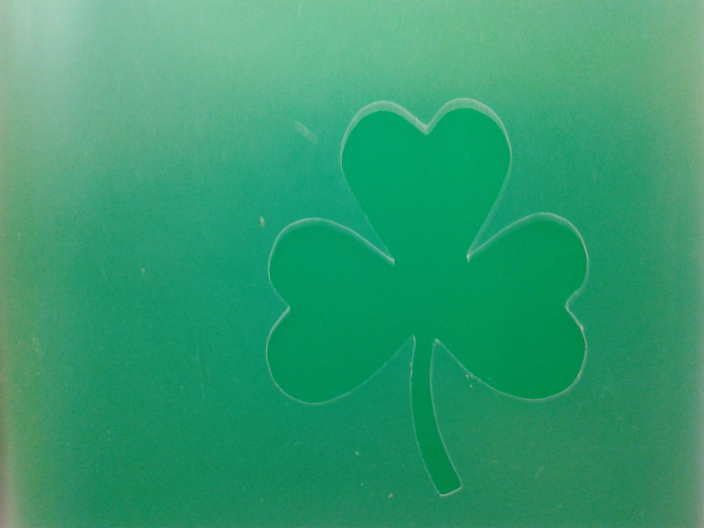 2 x shamrock face painting stencils 6 nations rugby reusable many