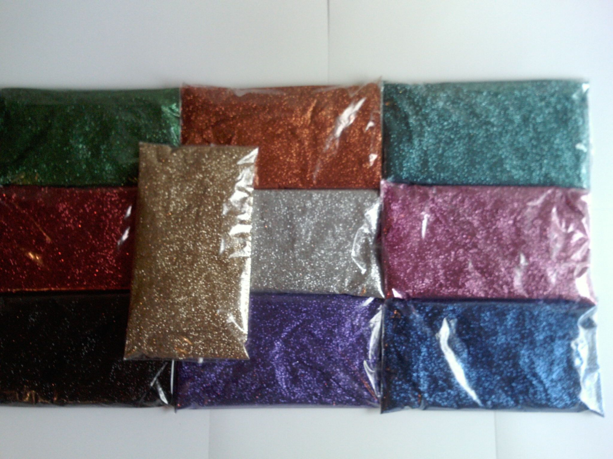 40 Gram Glitter Refill Pack For Tattoos 15 Colours To